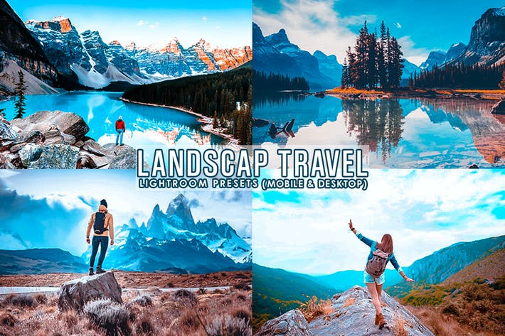 Thumbnail for Landscape travel  Preset For Mobile and Desktop