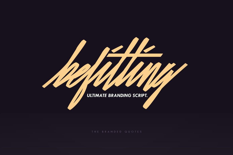 Befitting-Script