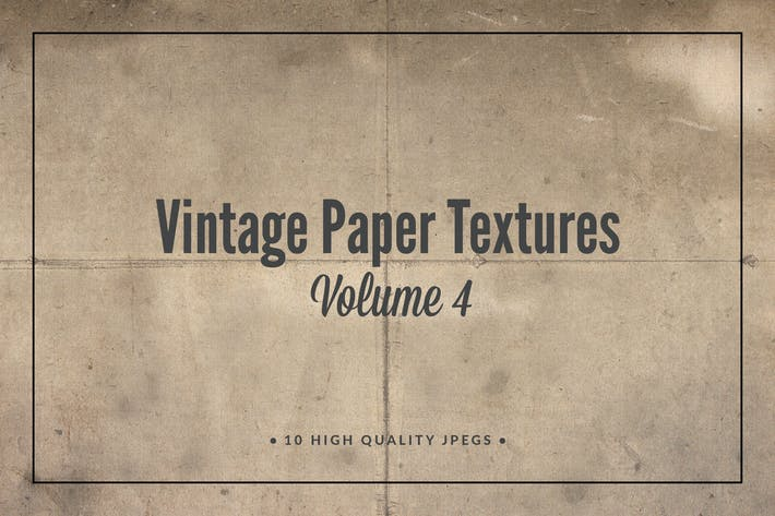 Thumbnail for Vintage Paper Textures Volume 4