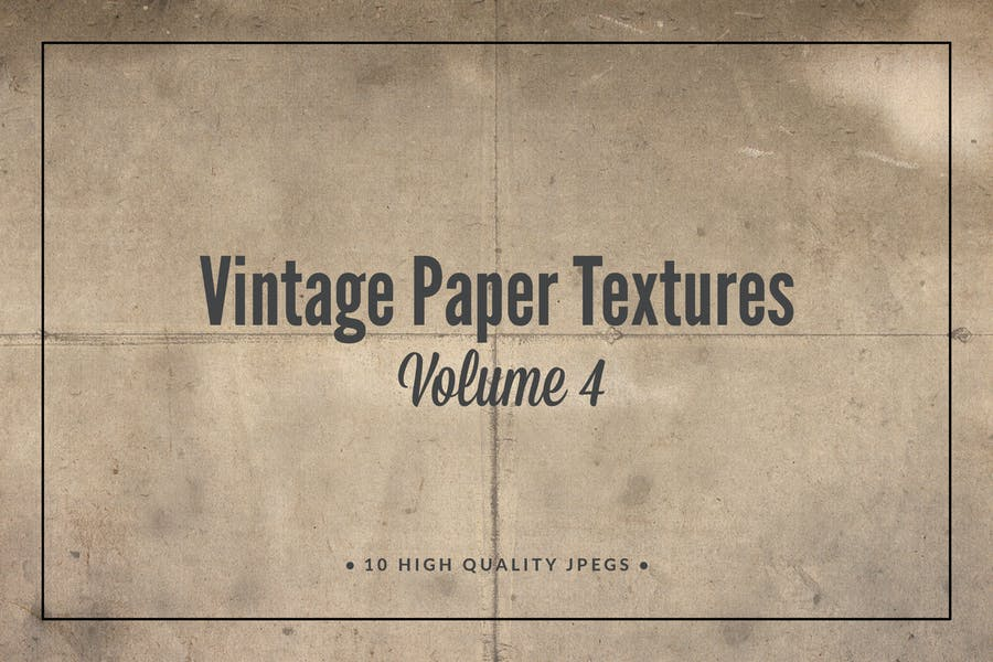 Vintage Paper Textures Volume 4
