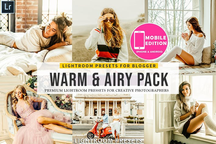 Thumbnail for Warm & Airy Lightroom Presets