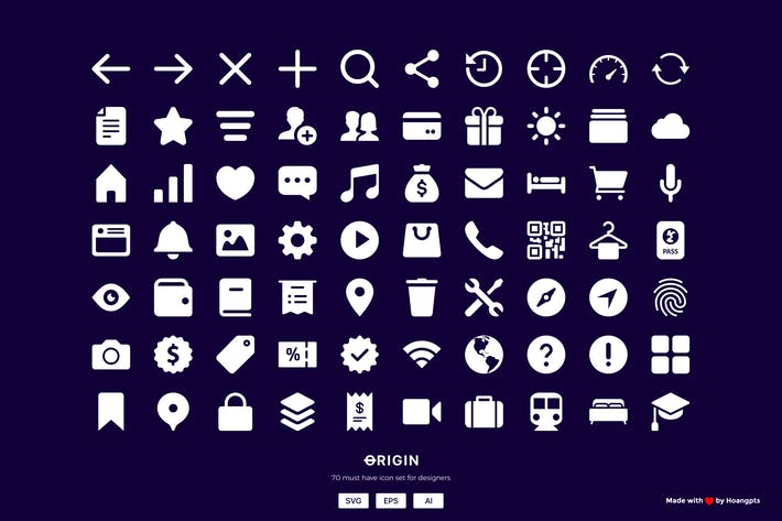 Thumbnail for 70 MUST HAVE Interface icon sets