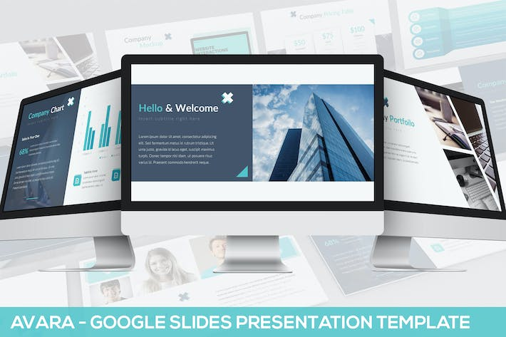 Thumbnail for Avara - Google Slides Presentation Template