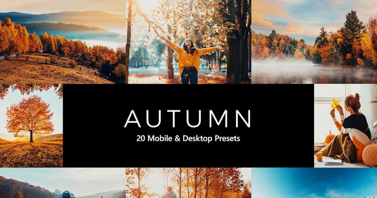 Download 20 Autumn Lightroom Presets & LUTs by sparklestock