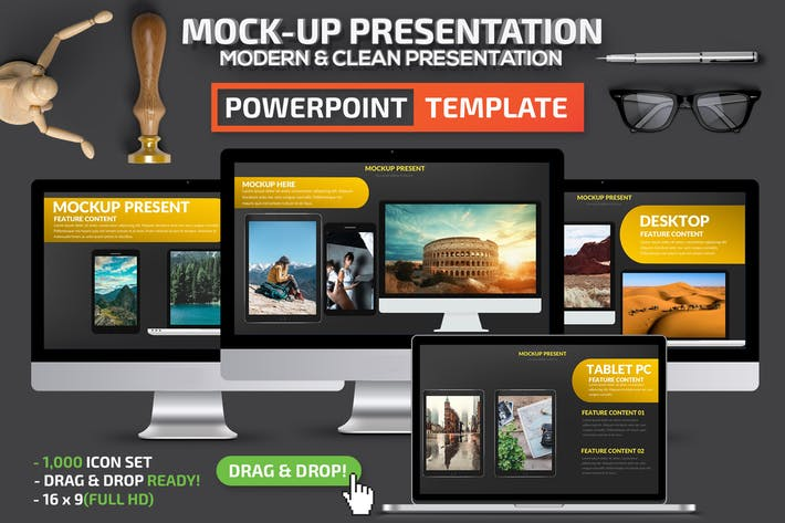 Thumbnail for Mock-up Powerpoint Presentation