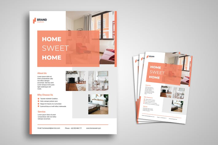 Thumbnail for Home Furniture Flyer Promo Template