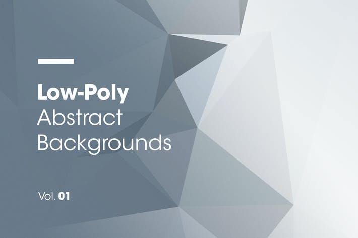 Thumbnail for Low-Poly | Abstract Backgrounds | Vol. 01