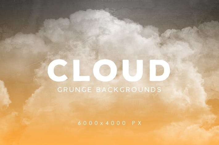 Thumbnail for Grunge Cloud Backgrounds