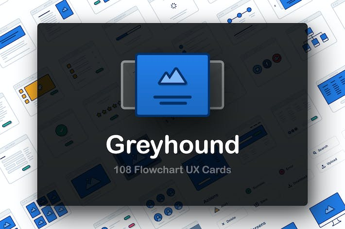 Thumbnail for Greyhound UX Flowcharts