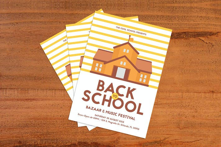 Thumbnail for Back To School Flyer