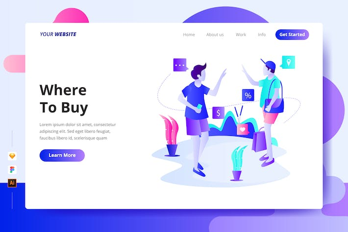 Where To Buy - Landing Page
