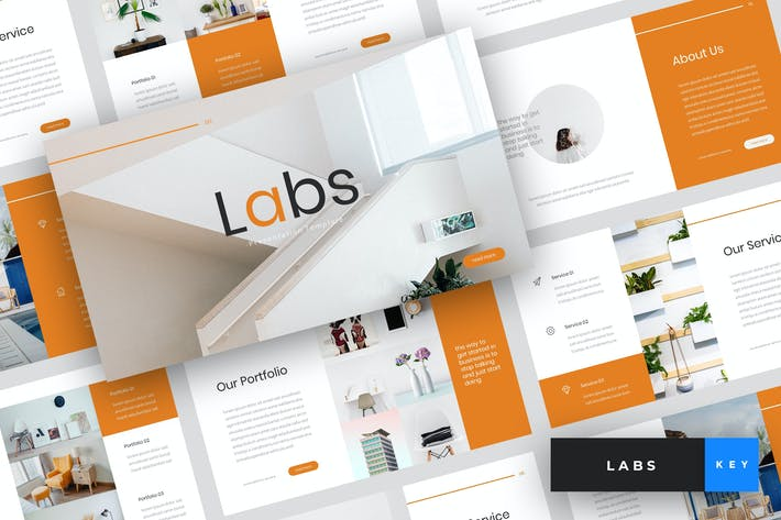 Labs - Creative Keynote Template