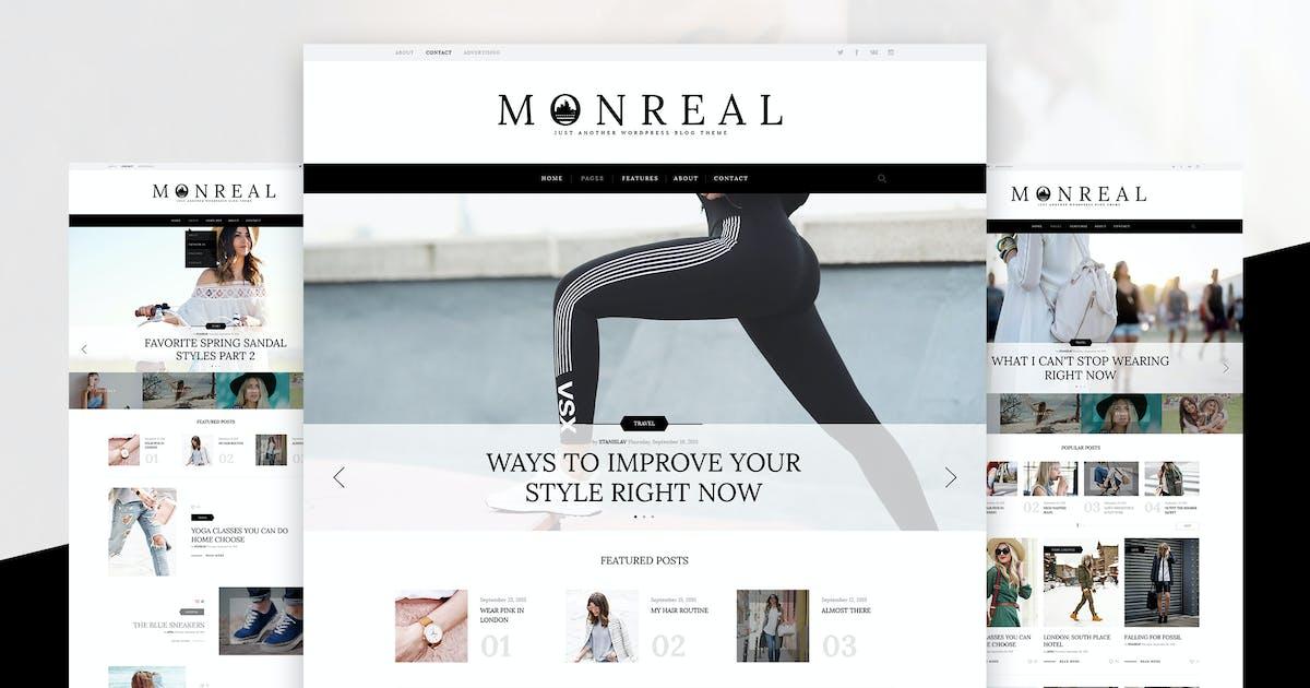 Download Monreal Creative Blog PSD by annabalashova