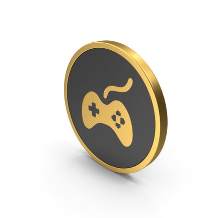 Gold Gamepad Icon