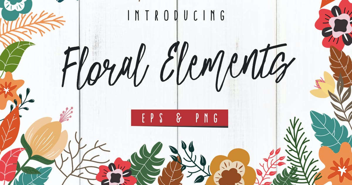 Floral Elements by giemons
