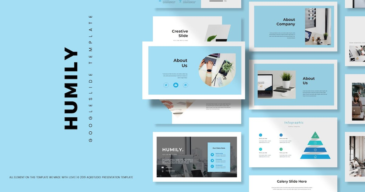 Download Humily - Google Slide Template by aqrstudio
