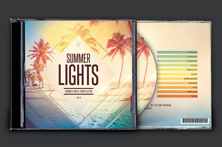 Cover Image For Summer Lights CD Cover Artwork