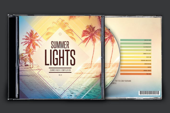 Thumbnail for Summer Lights CD Cover Artwork