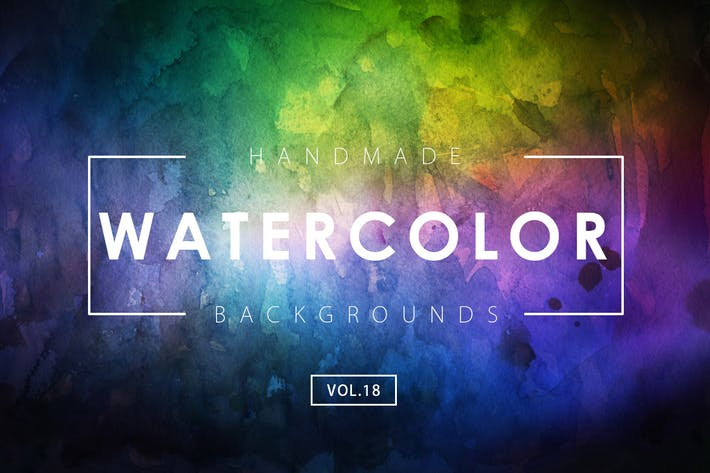 Thumbnail for Handmade Watercolor Backgrounds Vol.18