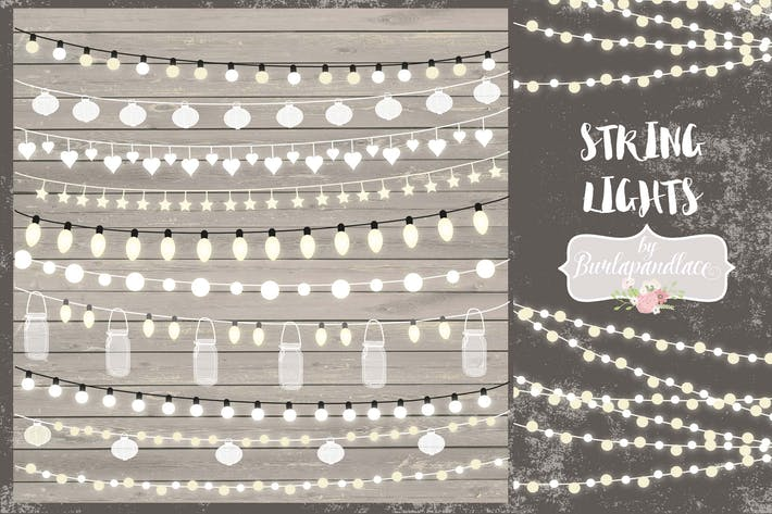 Thumbnail for String Lights Clipart