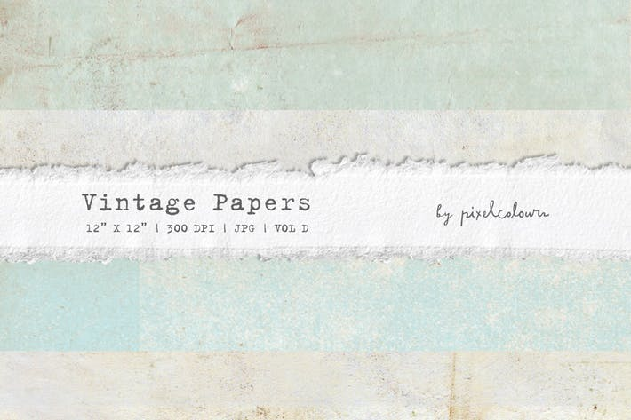 Thumbnail for Vintage Papers or Backgrounds D
