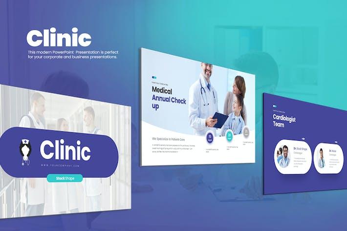 Thumbnail for Clinic Google Slides