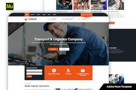 Trangini - Шаблон музы для ремонта автомобилей