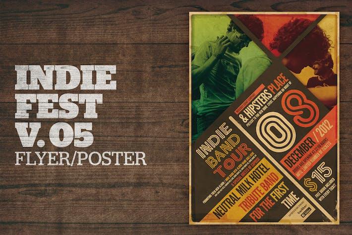 Thumbnail for Indie Fest Poster V05