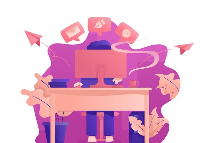 Thumbnail for Arbeit - Vektor illustration