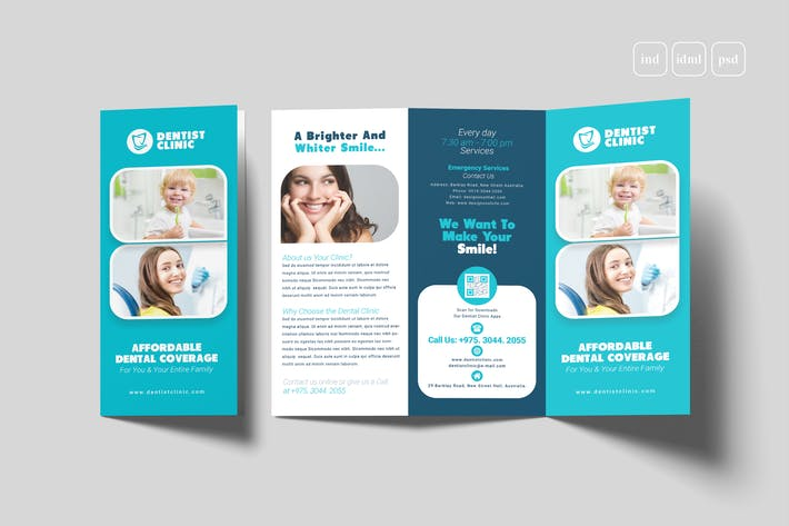 Thumbnail for Dental Trifold Brochure