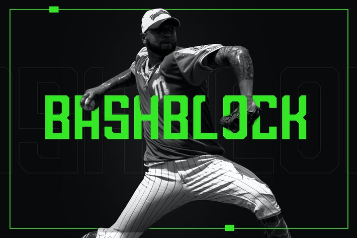 Thumbnail for BashBlock Display Font