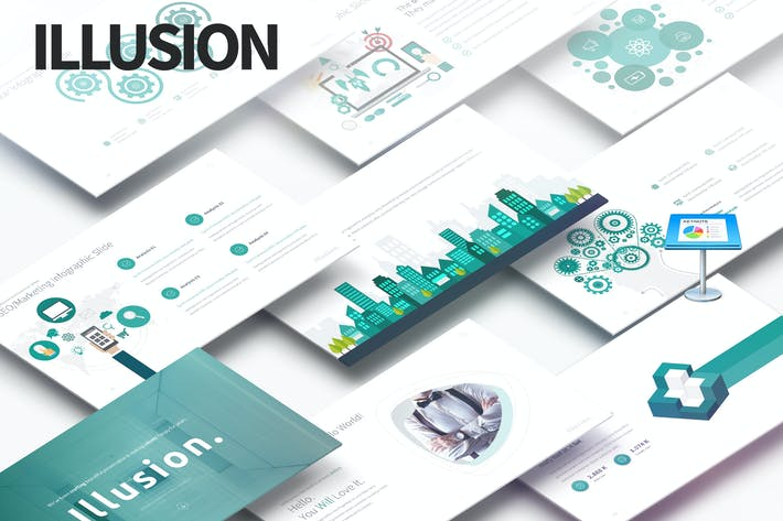 Thumbnail for Illusion - Multipurpose Keynote Presentation