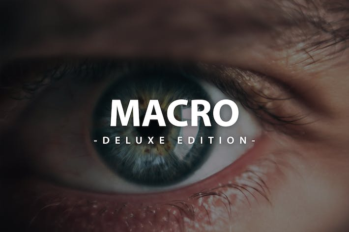 Macro Deluxe Edition | For Mobile and Desktop