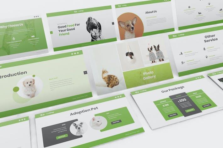 Thumbnail for Pet Shop Google Slides Presentation Template