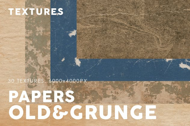 Old & Grunge Paper Textures 3