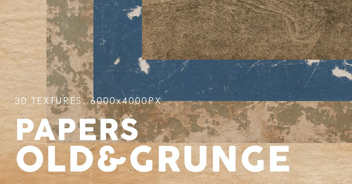 Download Old & Grunge Paper Textures 3 by M-e-f