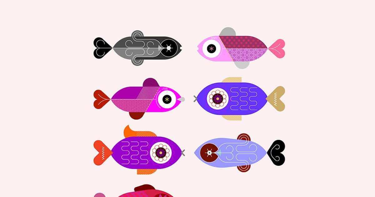 Download Aquarium Fish Icons by danjazzia