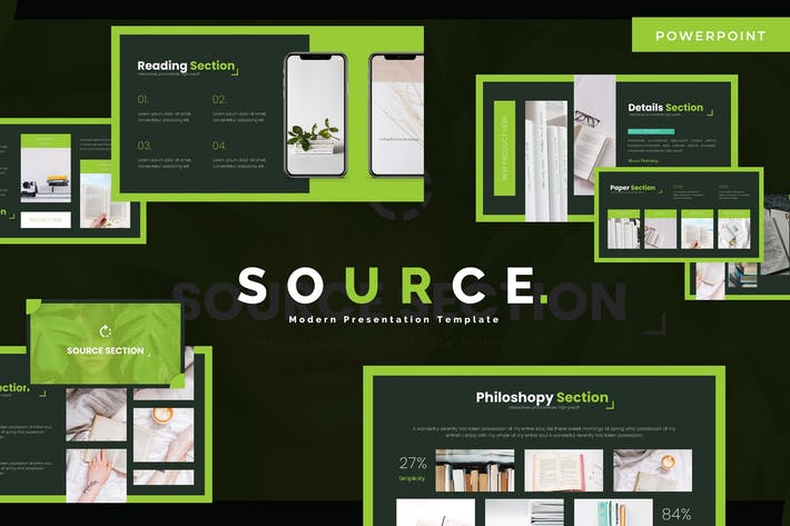 Thumbnail for Source - Powerpoint Template