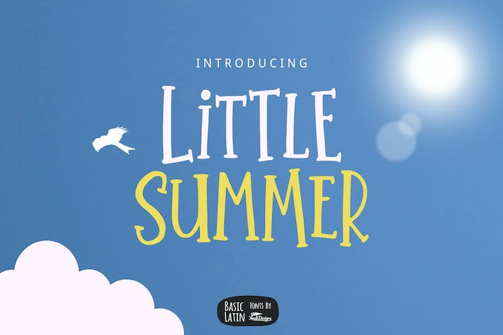 Thumbnail for Little Summer Font