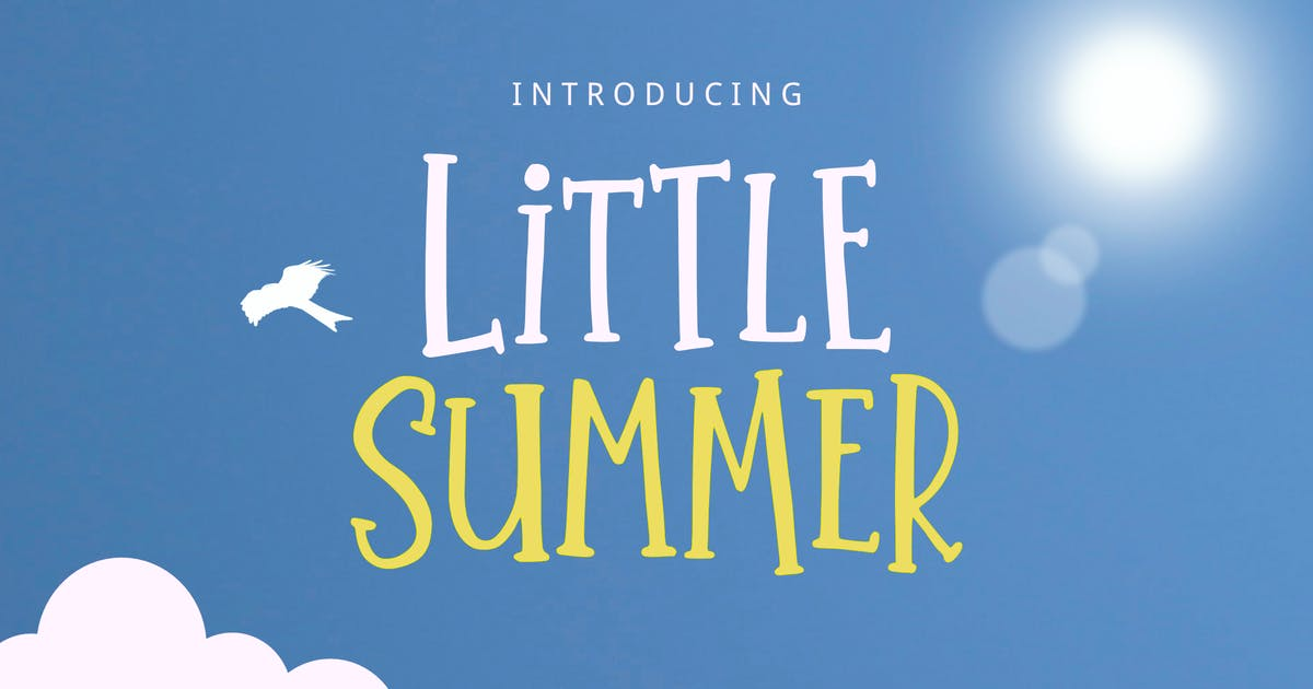 Download Little Summer Font by yandidesigns
