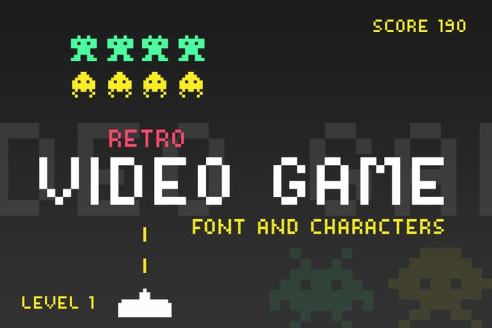 Thumbnail for Video Game Font
