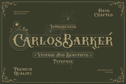 Carlos Barker - Fuente victoriana vintage