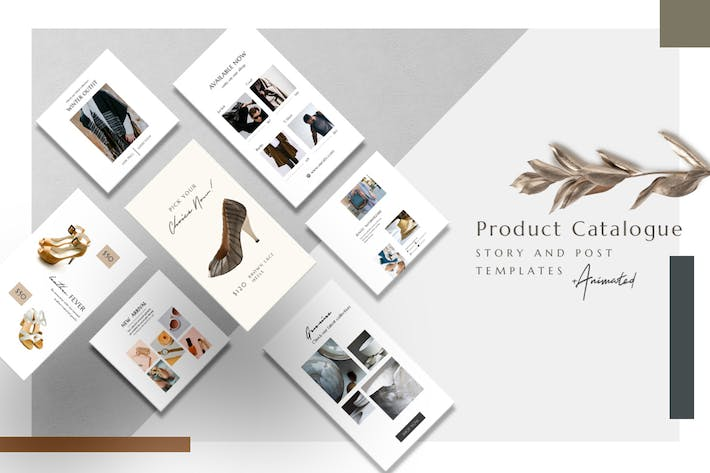 Thumbnail for Product Catalogue - Animated Instagram Basic Pack