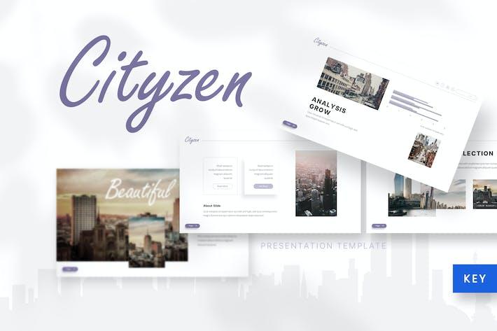 Cityzen - Cinema Keynote Template