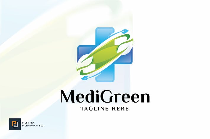 Thumbnail for Medical Green - Logo Template