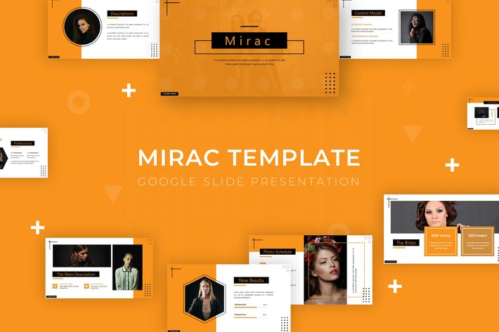 Thumbnail for Mirac - Google Slide Template