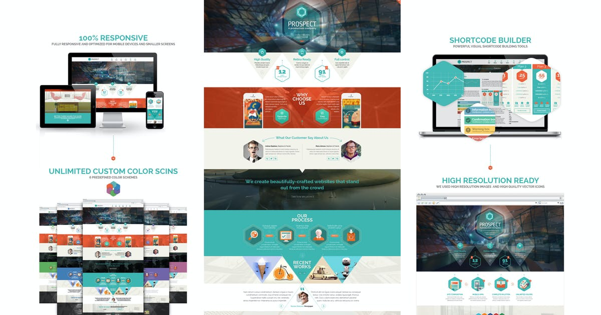 Download Prospect PSD Template by Unknow
