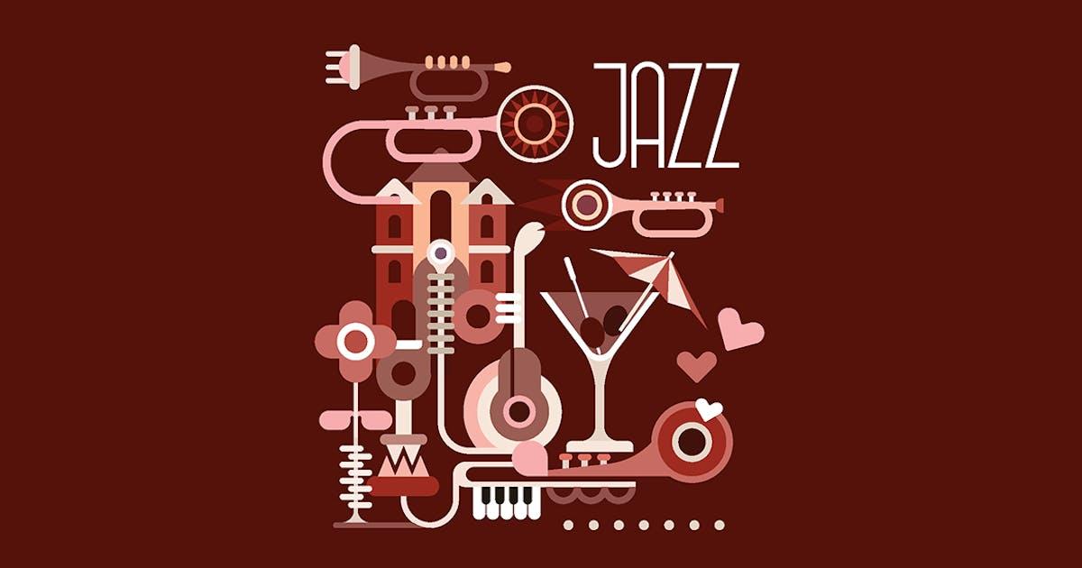 Jazz vector illustration by danjazzia