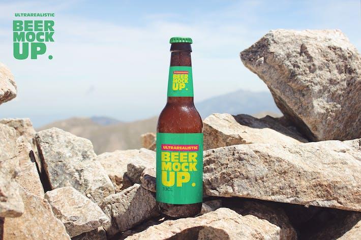 Thumbnail for Stone Nature Beer Mockup