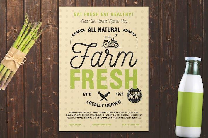 Thumbnail for Farm Fresh Market Flyer
